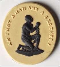 Josiah Wegewood anti-slavery button history