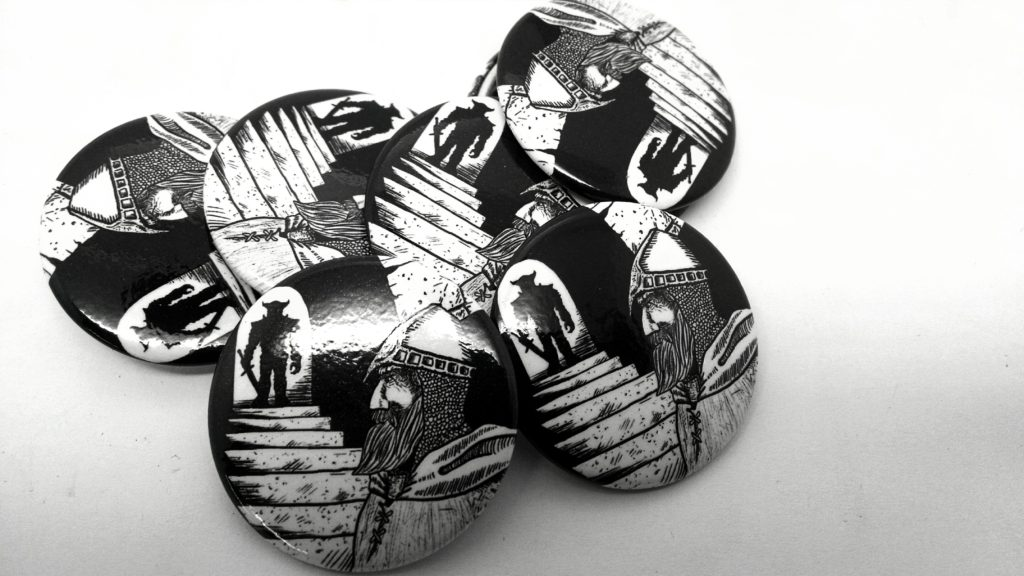 Grey Gnome Games Buttons
