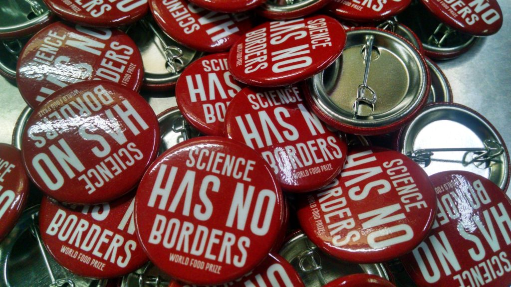 Science Has No Borders Buttons